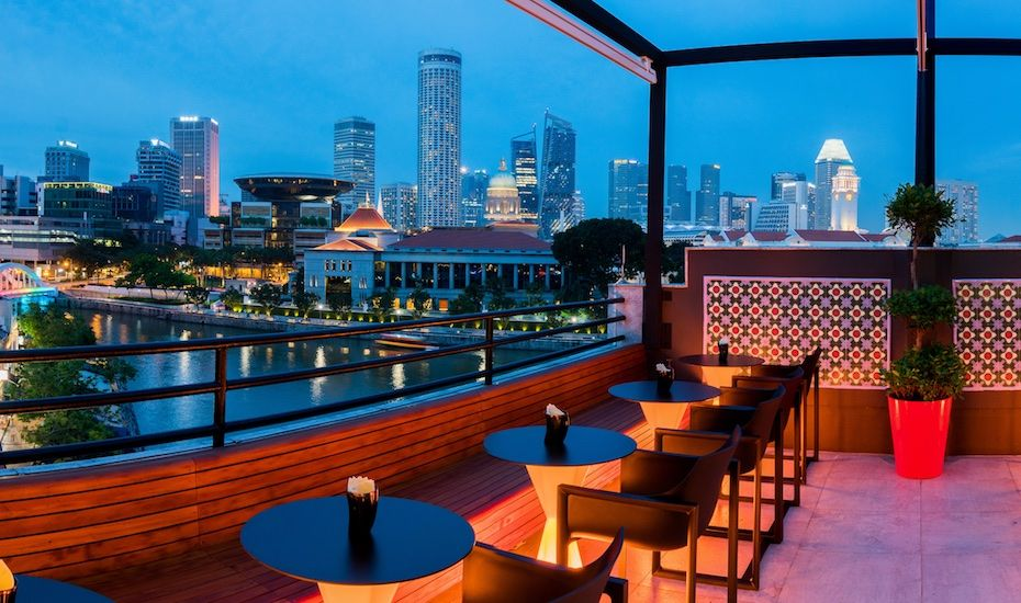 Italian Restaurants In Singapore We Review Braci A New Rooftop Bar And Restaurant At Boat Quay Best Rooftop Bars Rooftop Bar Bangkok Rooftop Bar