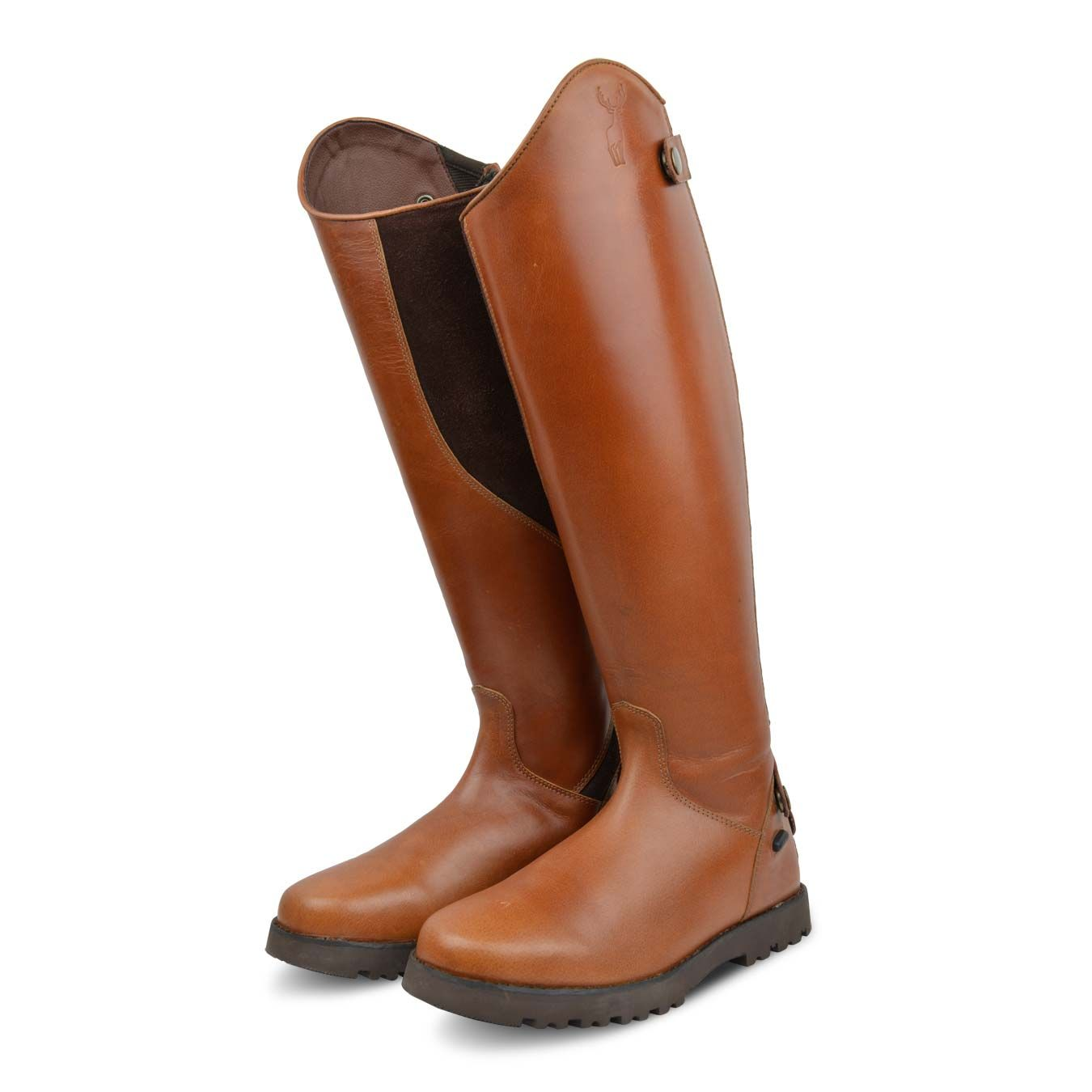 fc34f94404aaa New and exclusive to Derby House, these Kinpurnie Fife Long Riding Boots  are crafted using smooth buff leather uppers and microsuede shaped calf  area for ...