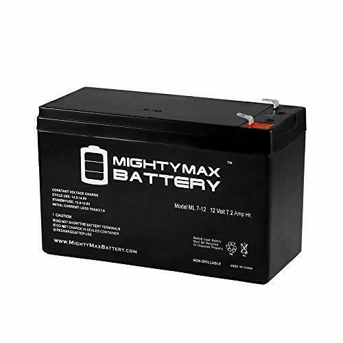 12v Battery For Kids Ride On Car 12 Volt Battery For Power Wheels 12v 7 Amp Hr Mightymaxbattery In 2020 Ups Batteries Mighty Max Rechargeable Batteries