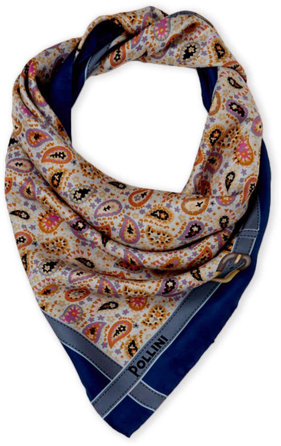 82cb064930d Silk Paisley Print Scarf | Products | Paisley print, Silk, Paisley