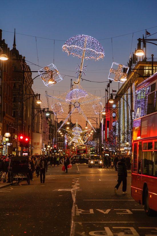 christmas | oxford street | london, england | dec 2011...