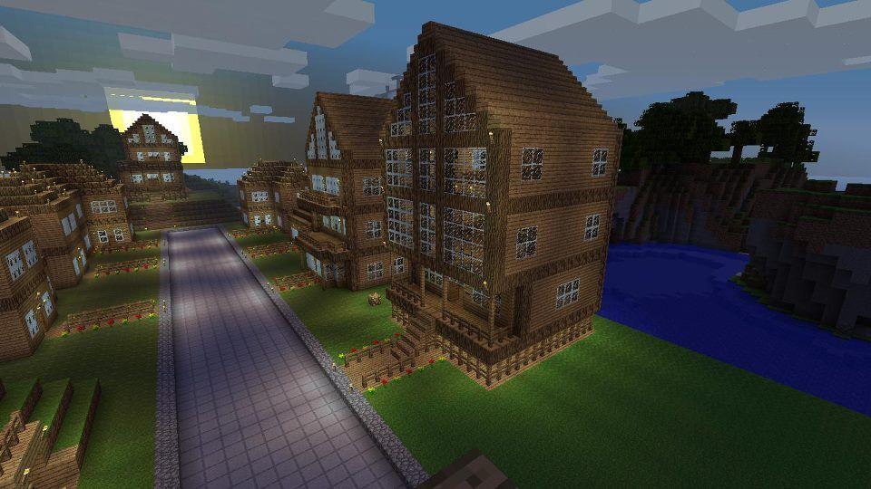Minecraft Img For > Minecraft Village Ideas