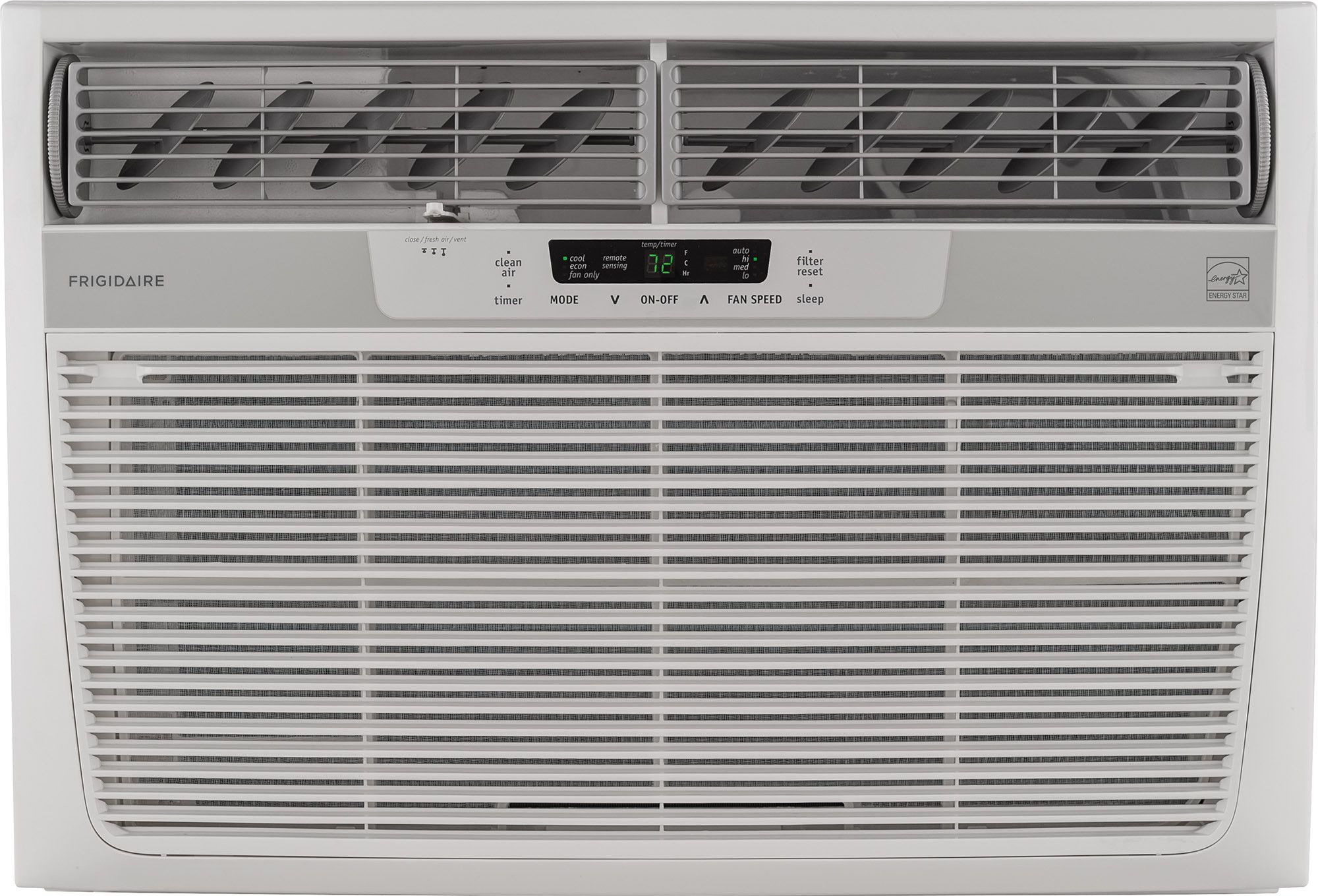 Frigidaire Ffre2233s2 22 000 Btu Energy Star Window Wall Air Conditioner With Digital Controls Remote Control 1 300 Sq Ft Cooling Area Ready Select Control Window Air Conditioner Room Air Conditioner Compact Air Conditioner