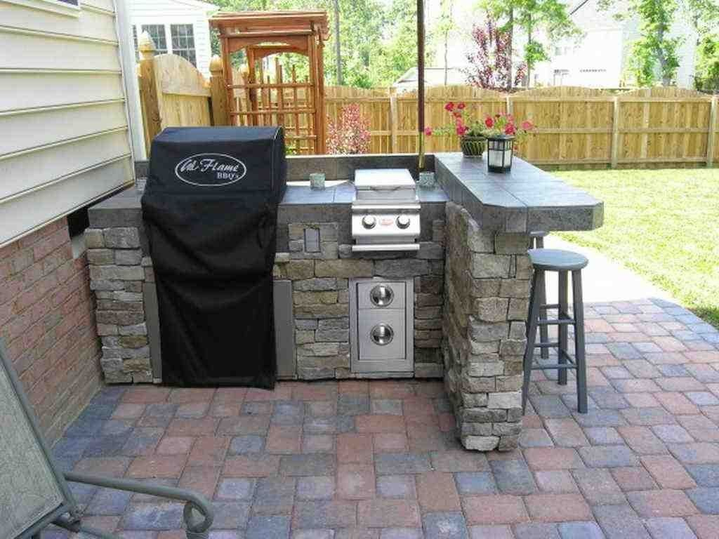Outdoor Kitchen Cabinets Home Depot Small Outdoor Kitchens