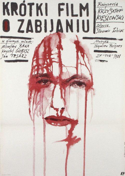 Kieslowski's Short Film About Killing poster (Poland)