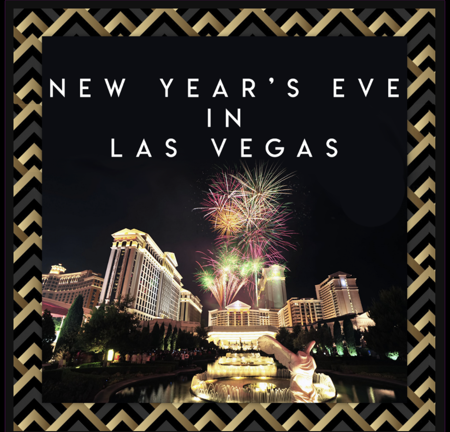 Things To Do In Las Vegas For New Year's Eve 2019 New