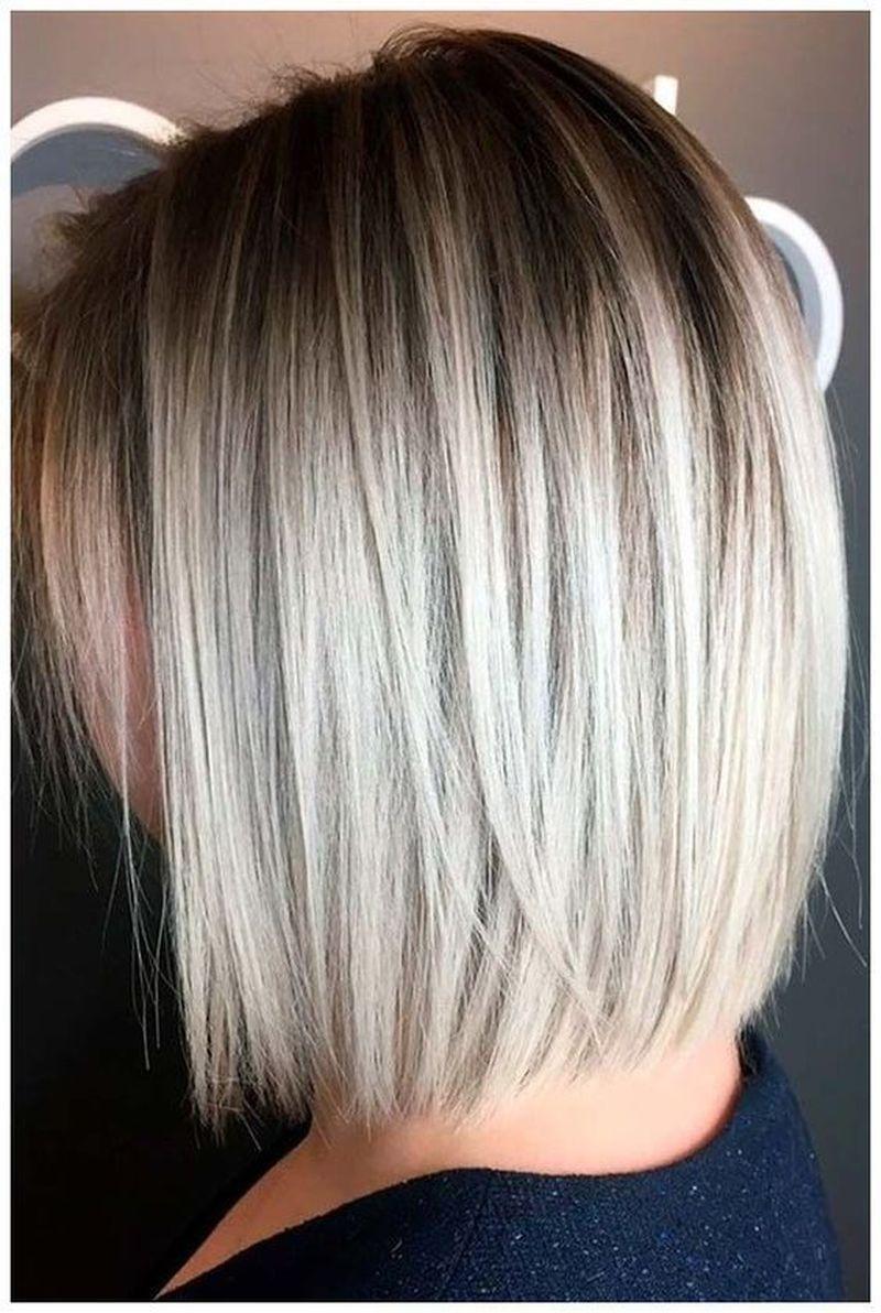 44 Cute Bob Hairstyles For Thin Hair Fashionnita Straight Bob Haircut Edgy Bob Haircuts Hair Styles