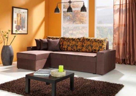 Sala Color Naranja Decoracion De Interiores Decoracion De Salas Colores De Interiores