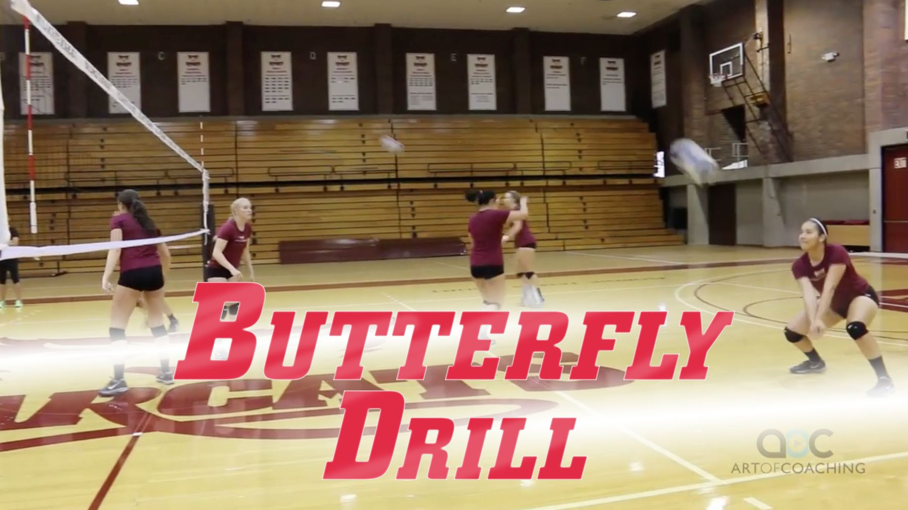 Tom Shoji Butterfly Drill For Warmups And Passing The Art Of Coaching Volleyball Coaching Volleyball Drill Volleyball Drills