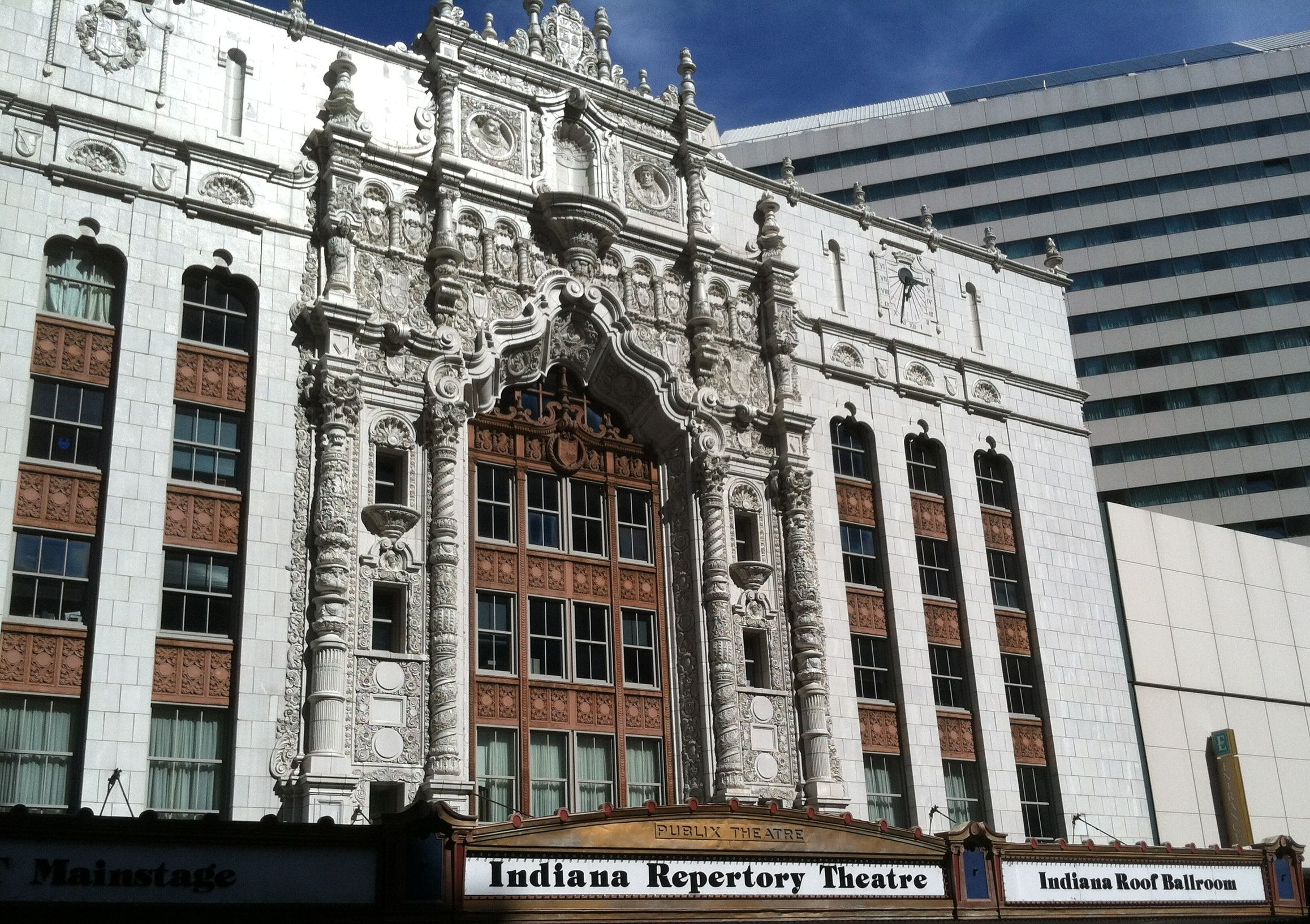 The Indiana Repertory Theatre With The Indiana Roof Ballroom