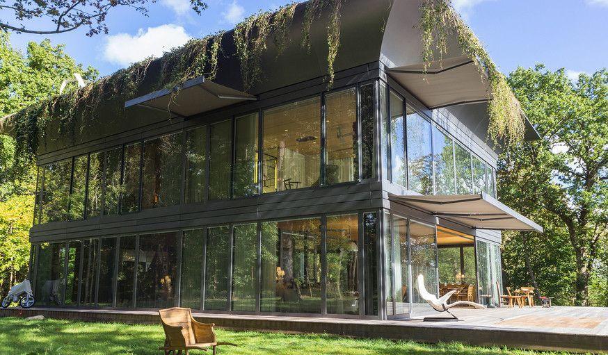 Extérieur de la maison témoin du projet PATH, réalisée par Philippe