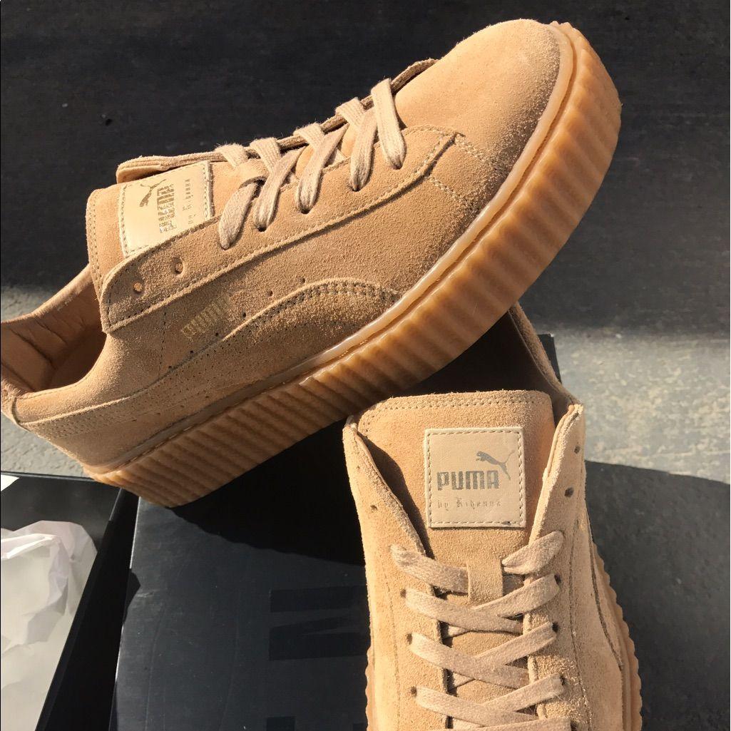 finest selection 391c4 ab204 Puma Shoes | Fenty By Rihanna Puma Creeper | Color: Brown ...