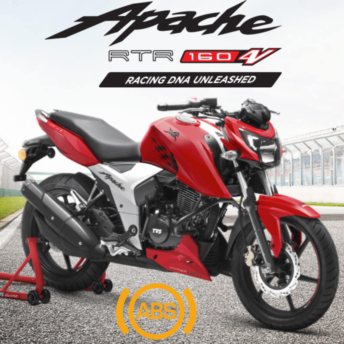 2019 Tvs Apache Rtr 160 4v With Abs Launched At Inr 98 644