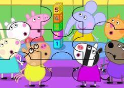 JuegosdePeppacom  Juego Rompecabezas Cubos Peppa Pig Puzzles de
