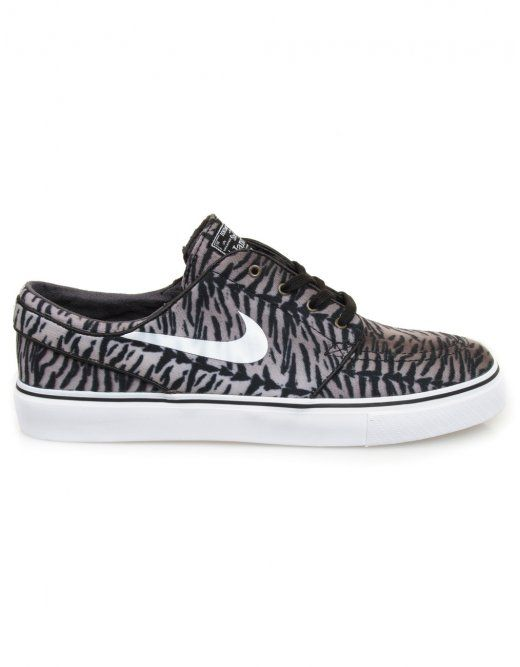 e3486638f661 Buy Nike SB by Zoom Stefan Janoski - Black White Med Olive from our Footwear  range - Blacks -   fatbuddhastore