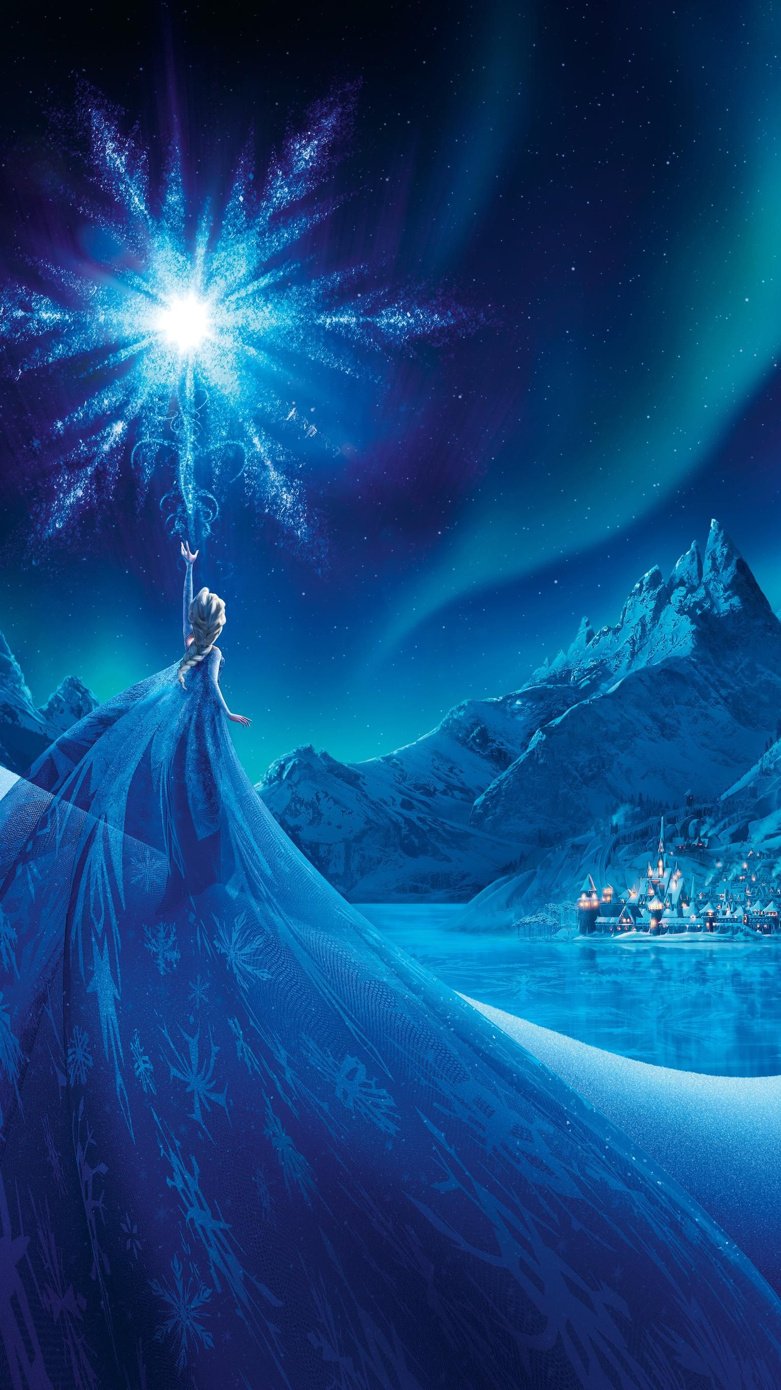 Frozen (2013) Phone Wallpaper #disneyprincess