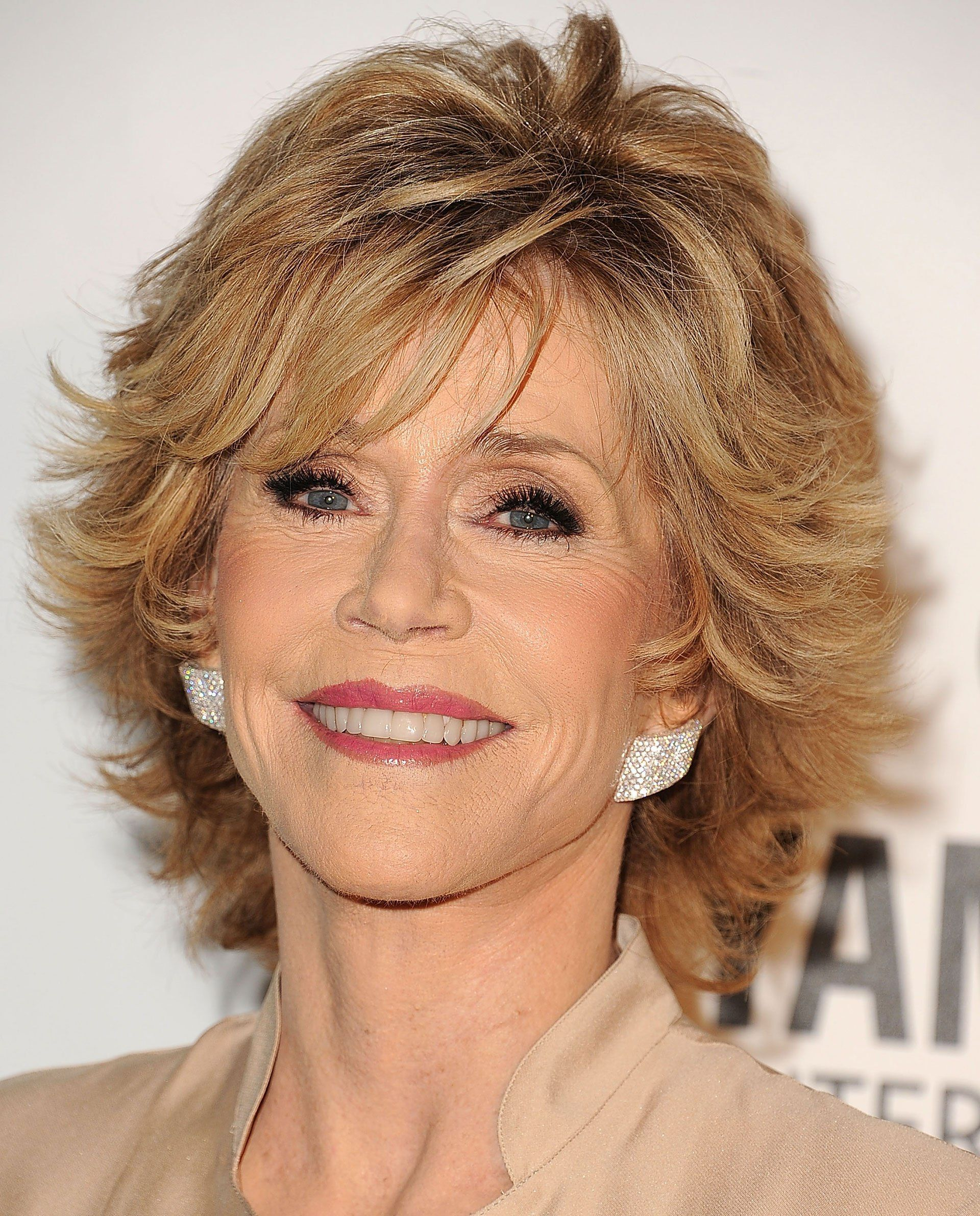 jane fonda's short haircut #coolesthairstyleforwomen