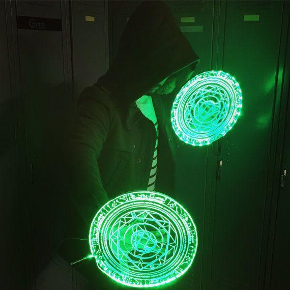 712f50fce1090 Doctor Strange Light up LED Spell disc prop ( cosplay, halloween ...