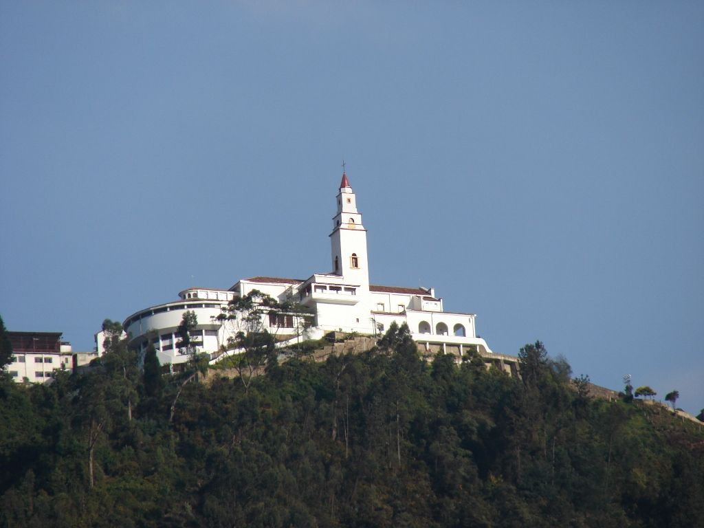Monserrate Sanctuary (reached uphill by cablecar) - Bogota, Colombia
