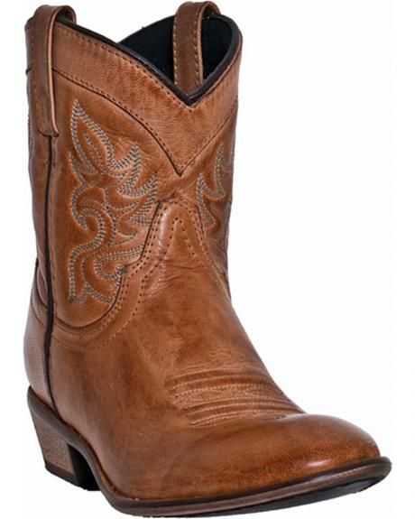 4ff6f639d8a Dingo Willie Short Cowgirl Boots - Round Toe | Shoes <3 | Short ...