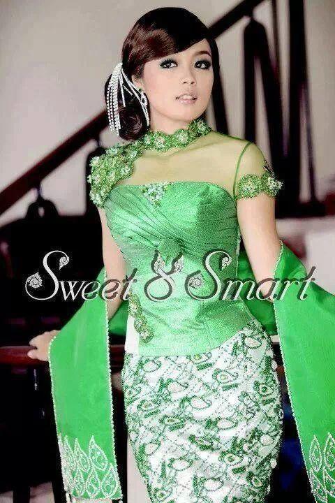 Myanmar Traditional Fashion Dress