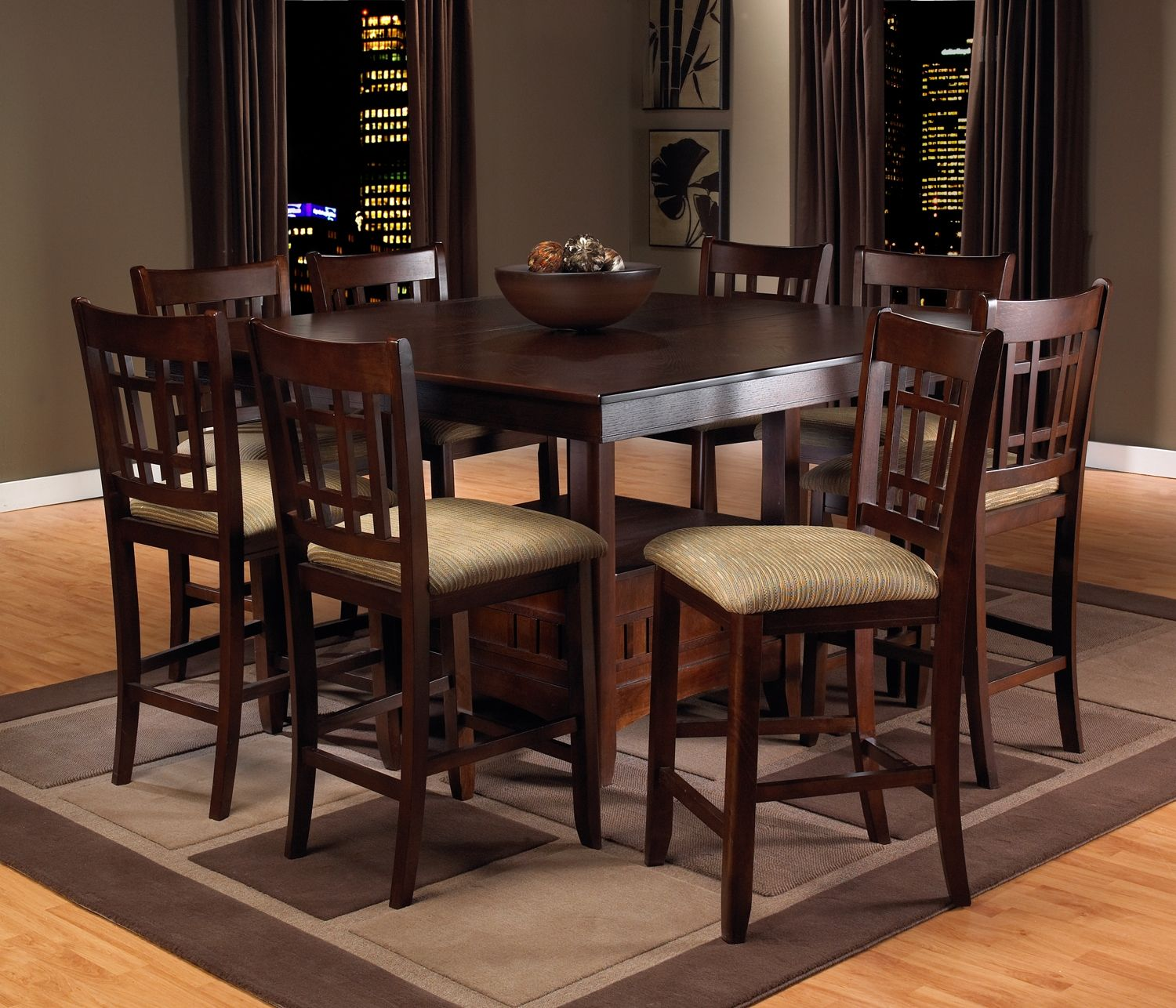 Bar height square kitchen table  Casual Dining Room FurnitureThe Brighton CollectionBrighton Pub