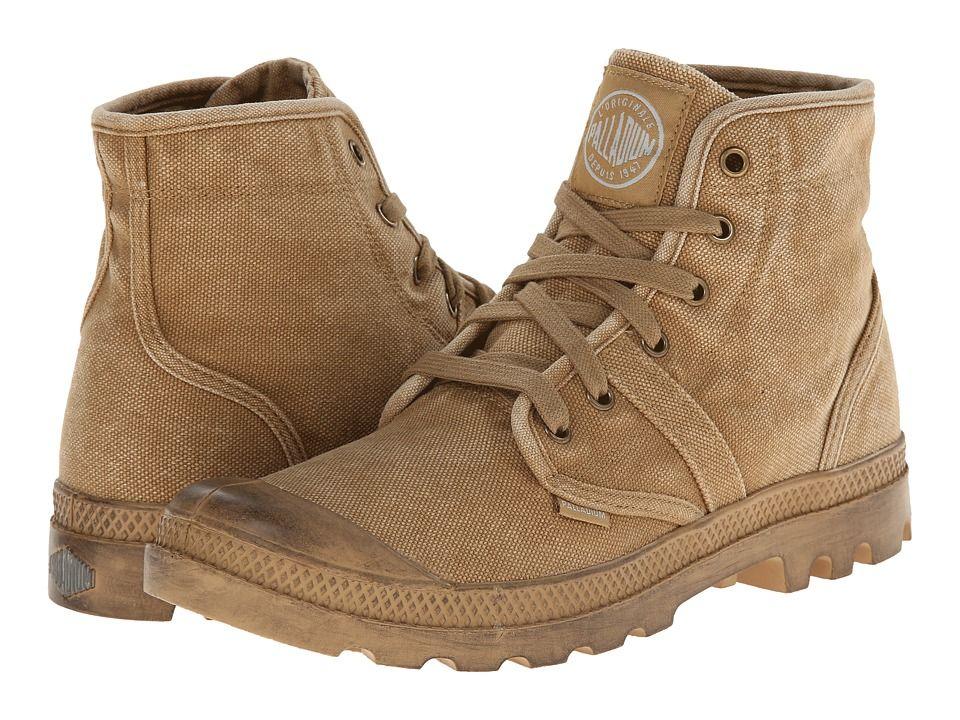 3c27525a9c2 Palladium Pallabrouse Men's Lace-up Boots Woodlin/Honey Mustard ...