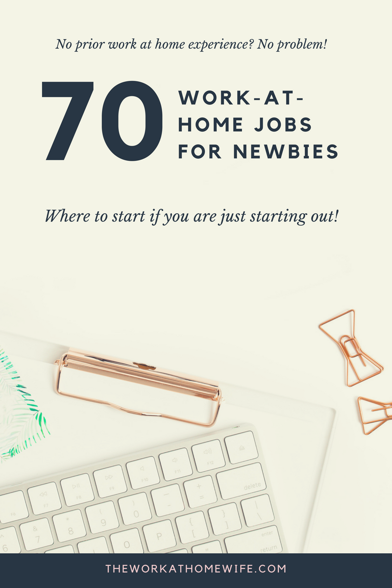 Stay-at-Home Jobs for Beginners  Where to start when you re starting ... d9450250b9e