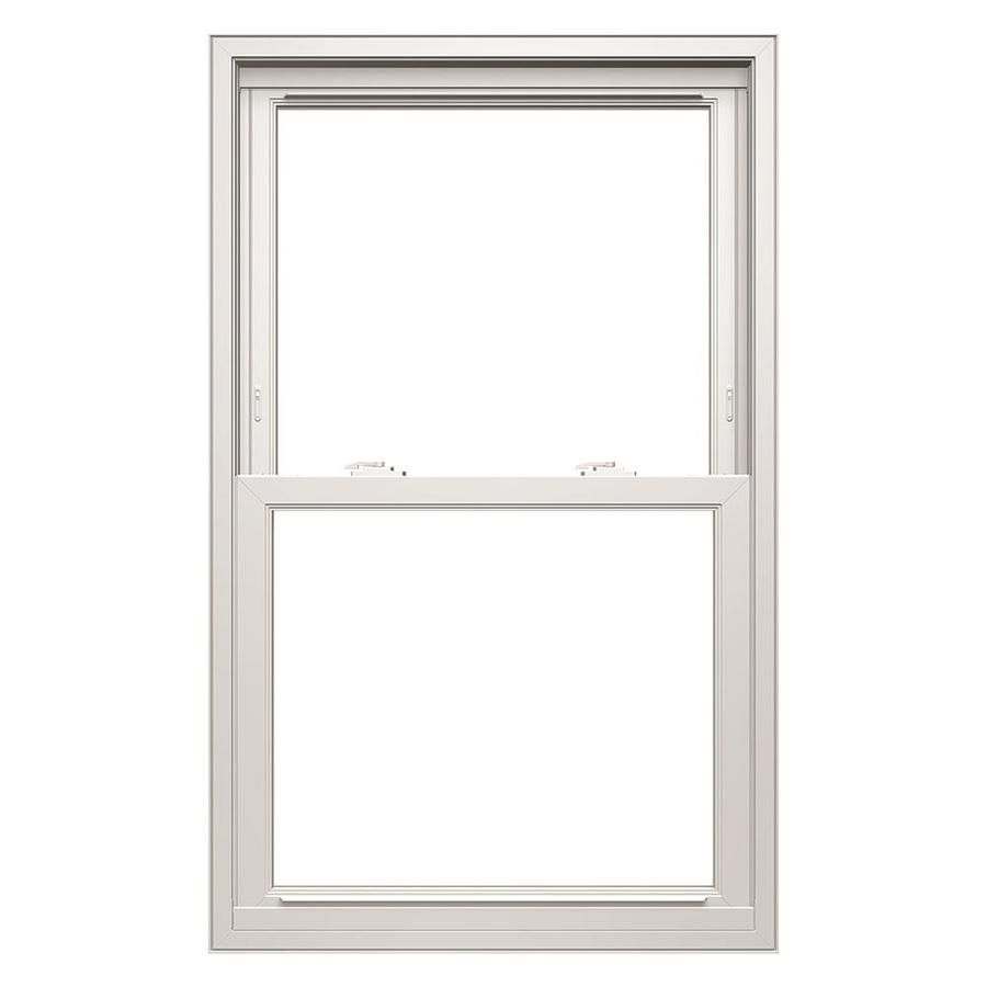 Thermastar By Pella Vinyl Replacement White Exterior Double Hung