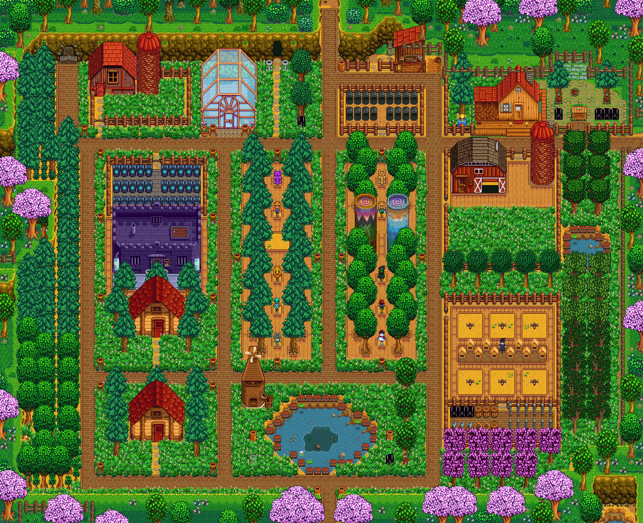 Click To Open Farm Gallery Stardew Valley Pinterest