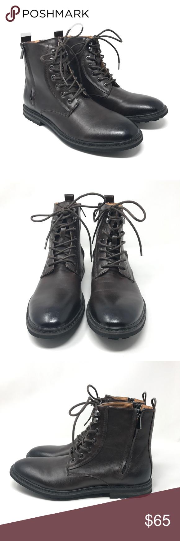 8ff29765c3f Robert Wayne Thatcher brown leather Lace Up size 8 | My Posh Picks ...