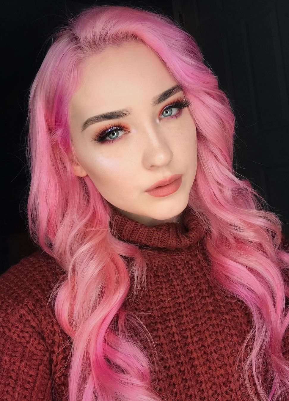 46 Amazing Makeup Looks To Try Cool Makeup Looks Makeup Looks Hair Color Pastel