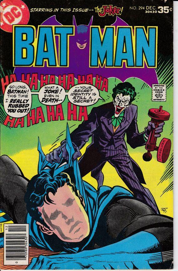 Batman 294 December 1977 Issue DC Comics Grade by ViewObscura