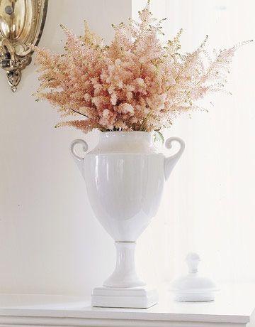Vintage Flowers Cascading Bouquets Astilbe Flower Astilbe Stock Flower