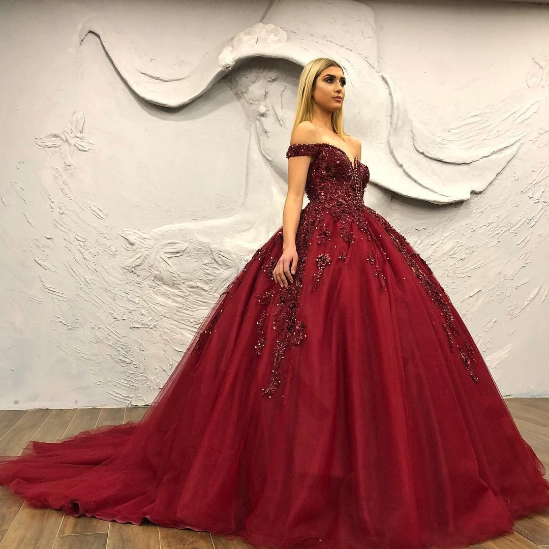Pin by Chloe Michalot on Abiye  Prom dresses ball gown, Ball