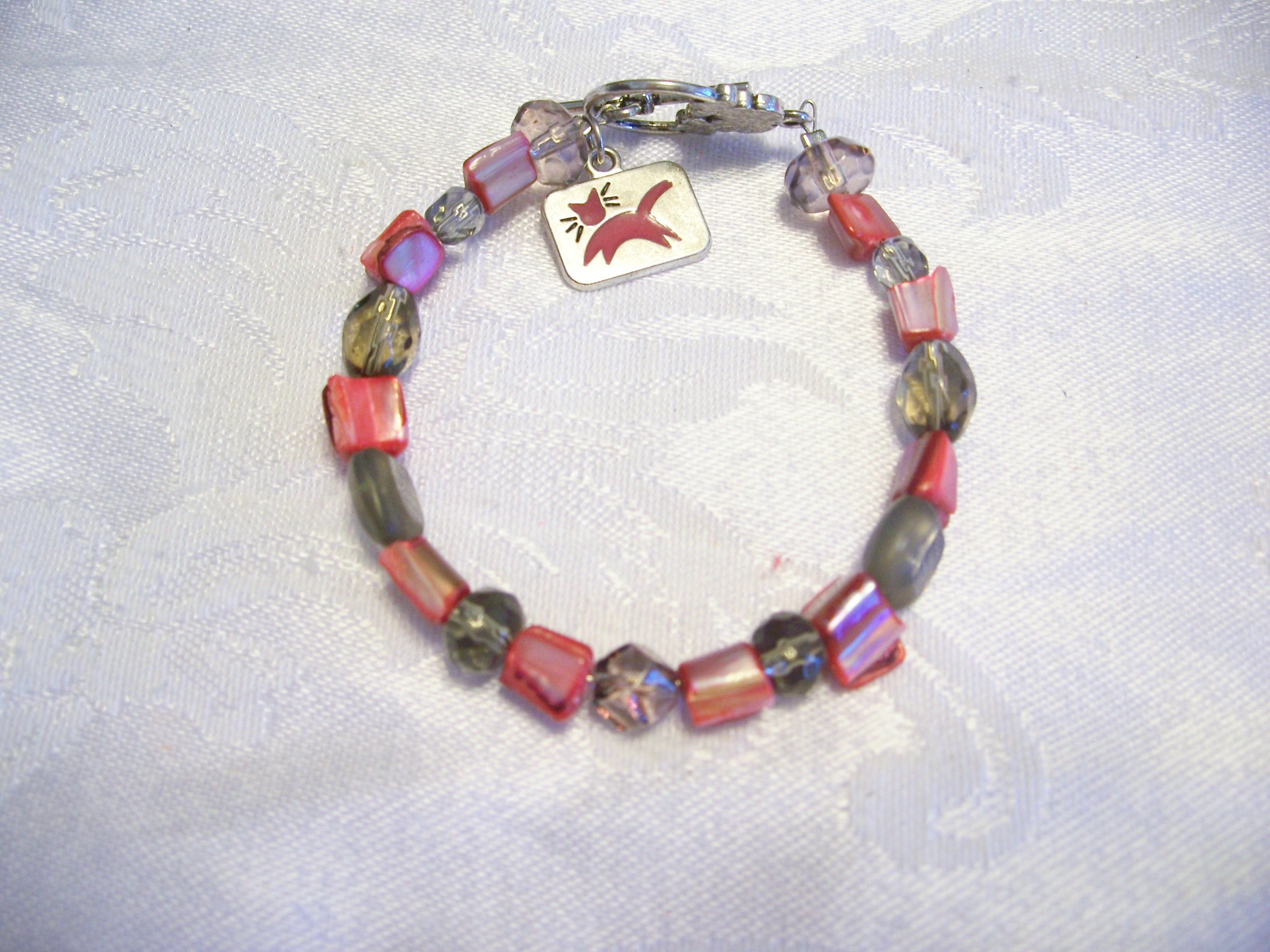This one is actually my braclet...made it for myself to make an outfit....Adult size :)