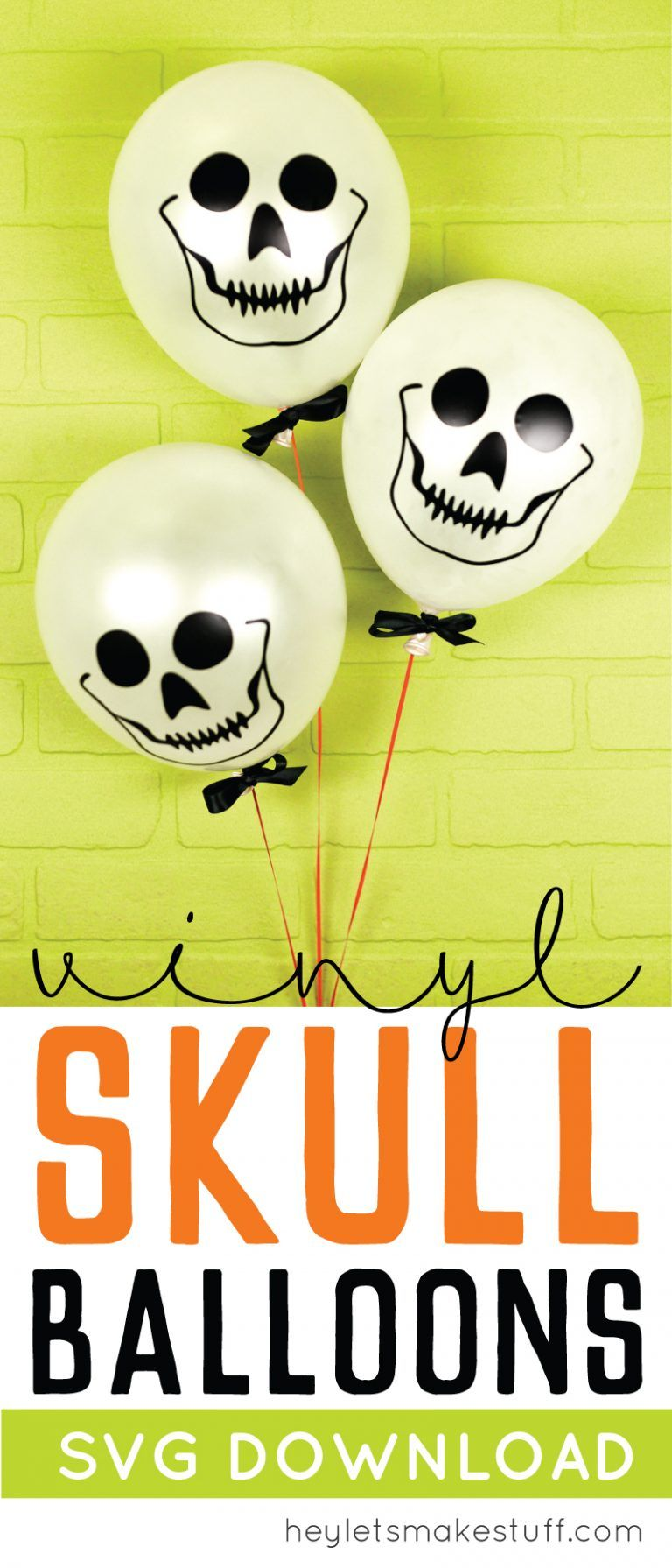 Amber Boddy Whipping easy skull balloons | halloween party decor, halloween diy