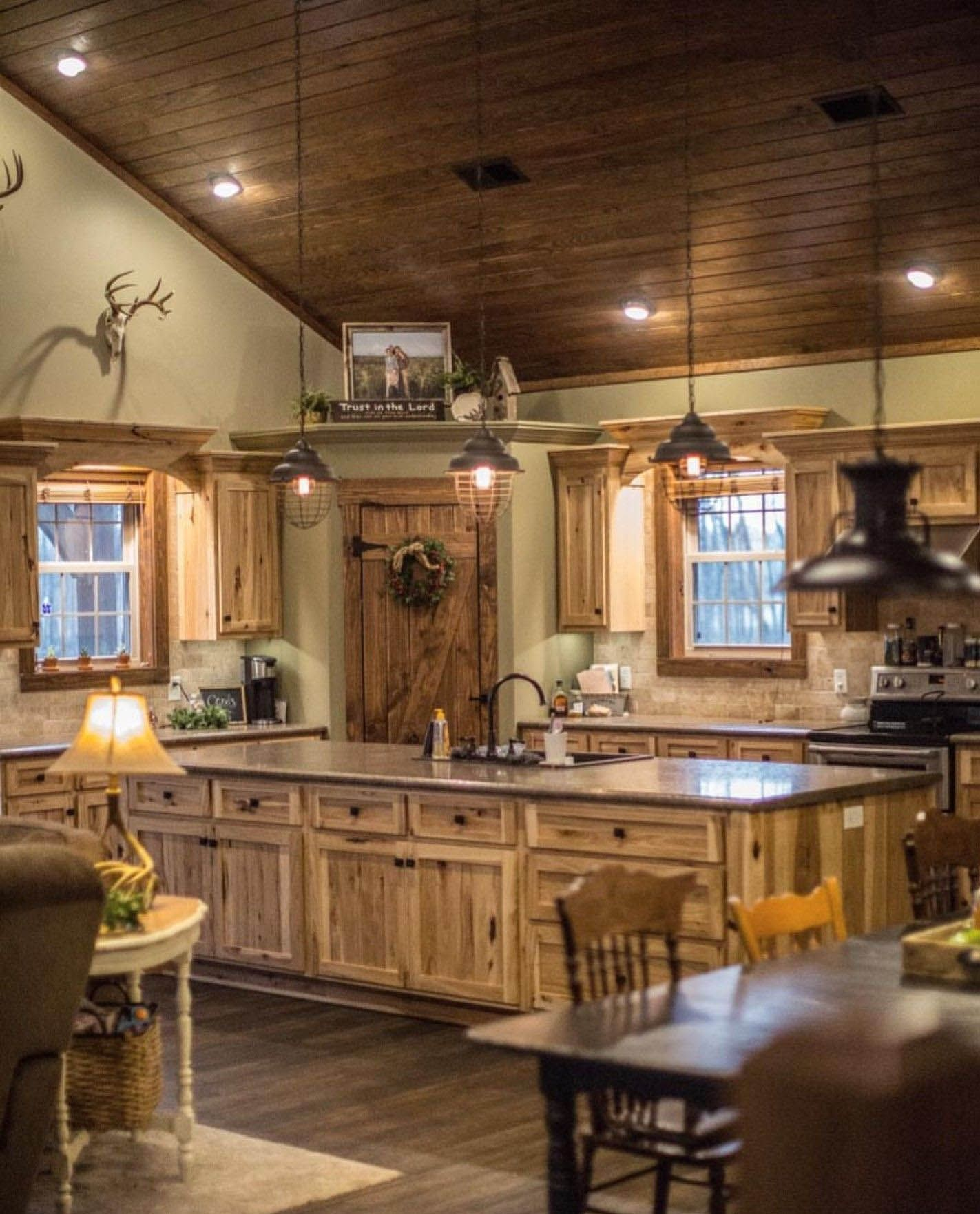 30 Most Popular Rustic Kitchen Ideas You Ll Want To Copy In 2020 Rustic Kitchen Design Kitchen Style Rustic Kitchen Cabinets