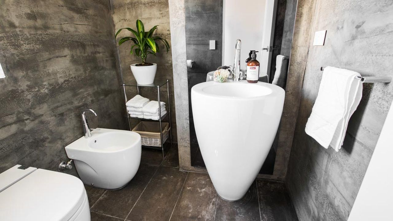 This Powder Room Featured On Channel Nine 39 S The Blocktagon
