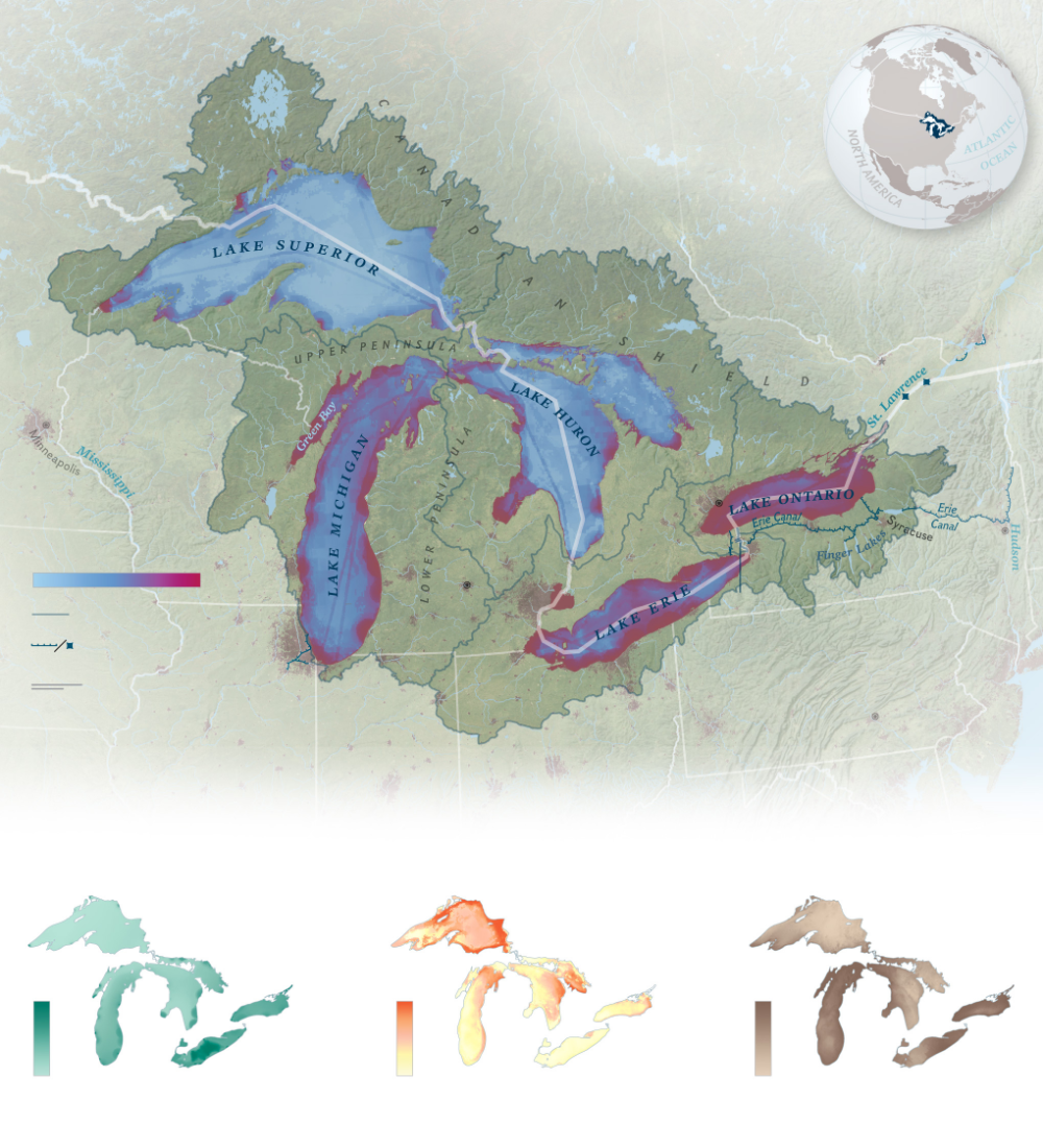 The Great Lakes North America S Greatest Resource Faces Many Threats Great Lakes Lake North America