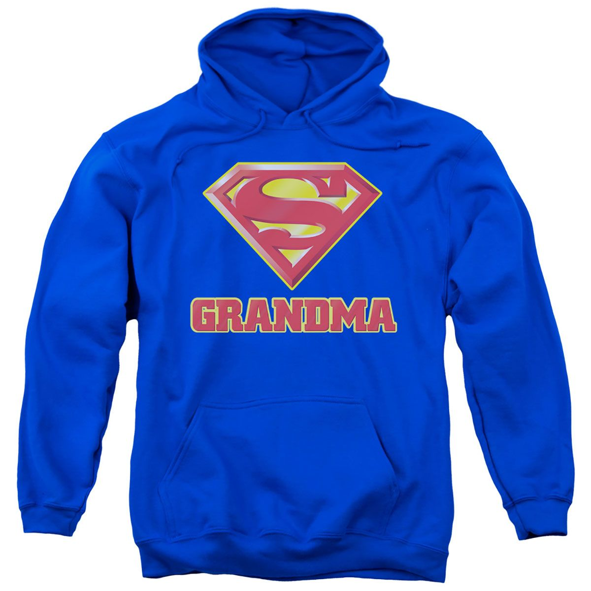 Officially Licensed Superman Shield Hoodie S-XXL Sizes
