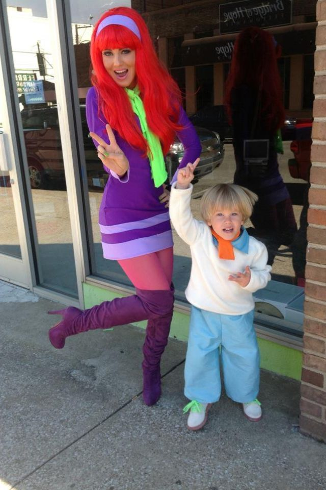 Mystery Gang Halloween Mommy Amp Son Costume Fred Amp Daphne