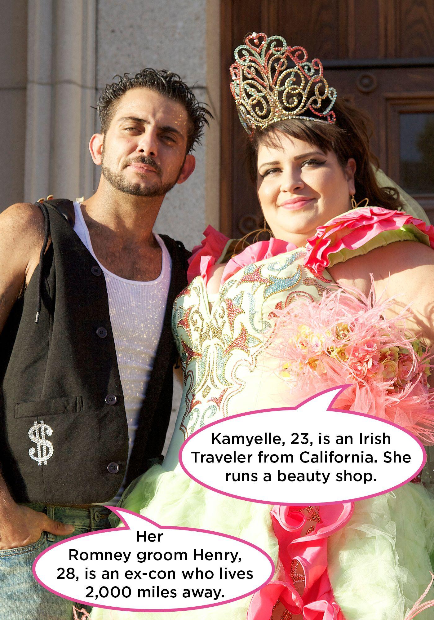 My Big Fat American Gypsy Wedding Gypsy Weddings Pinterest