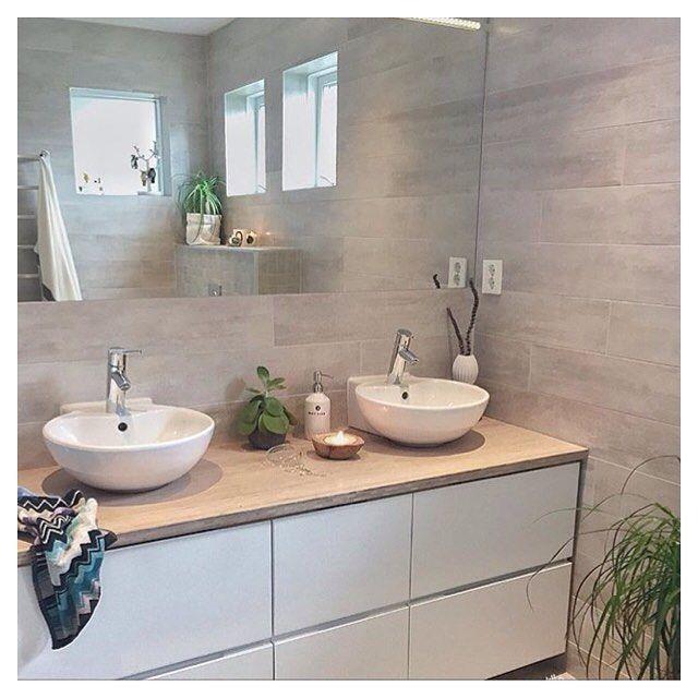 This is terrific Cred: @ingerliselille #kvikkitchen #kvik #bathroom ...