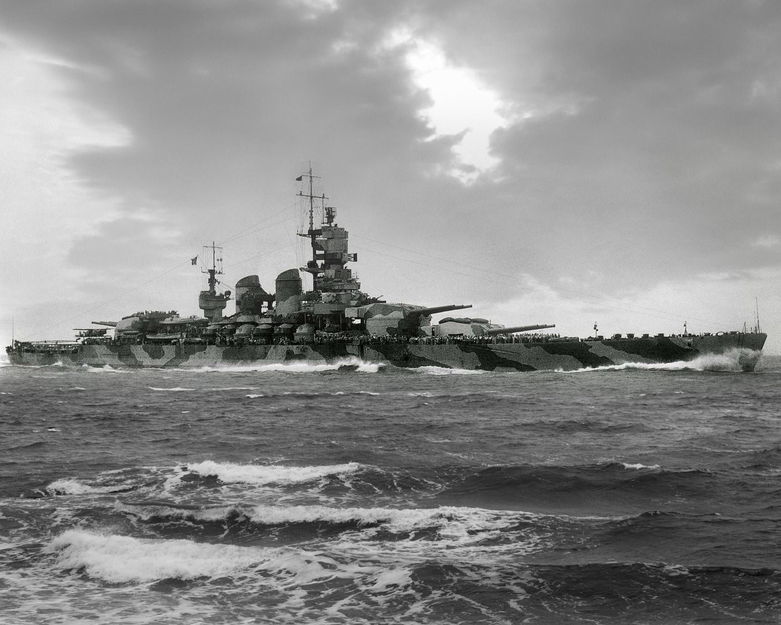 Wwii italy navy battleship roma 1943 plastic model images list - Italian Battleship Littorio Was The Lead Ship Of Her Class Served In The