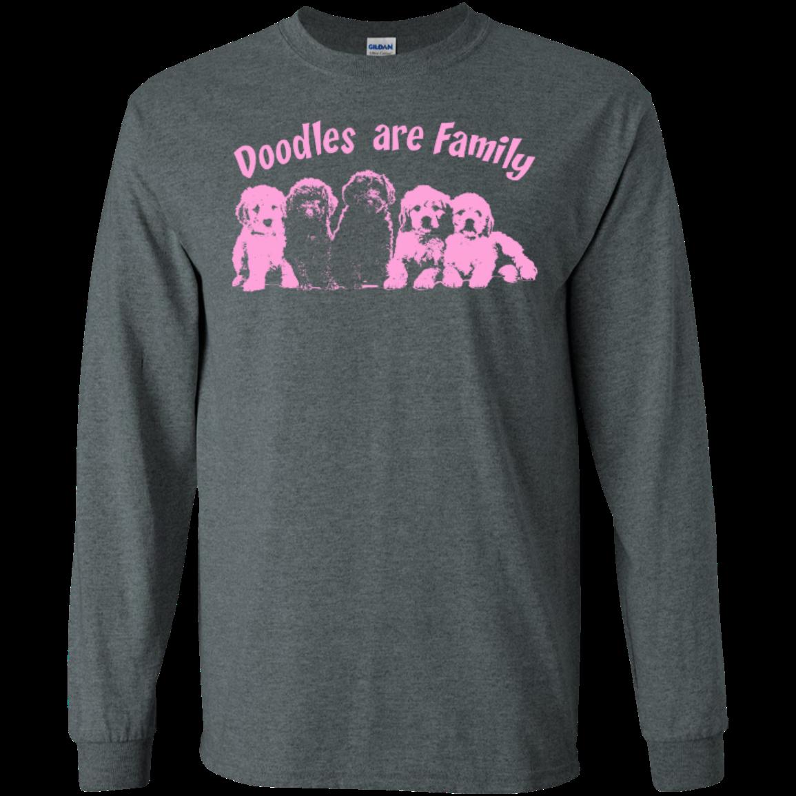 Doodles Are Family - Gildan Long Sleeve T-Shirt
