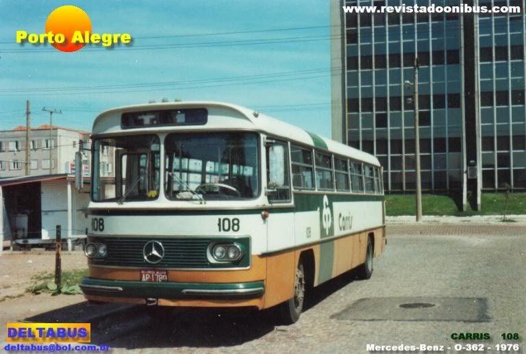 Onibus Da Carris De Porto Alegre Anos 70 Porto Alegre Viagem