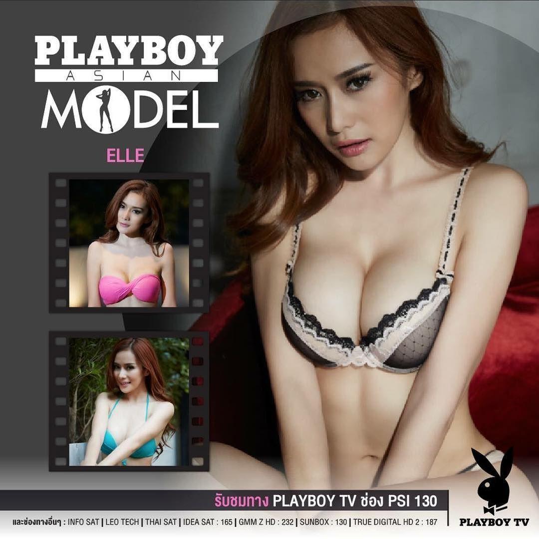 on air ครงแรกในรายการ playboy asian model ทาง playboy tv กบ saturday