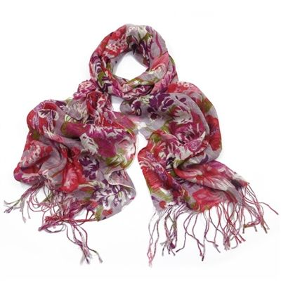 Pia Scarf ~ Whether your off to the office or the local garden party this little number will take you anywhere, so surround yourself in an array of purple and enjoy every moment !