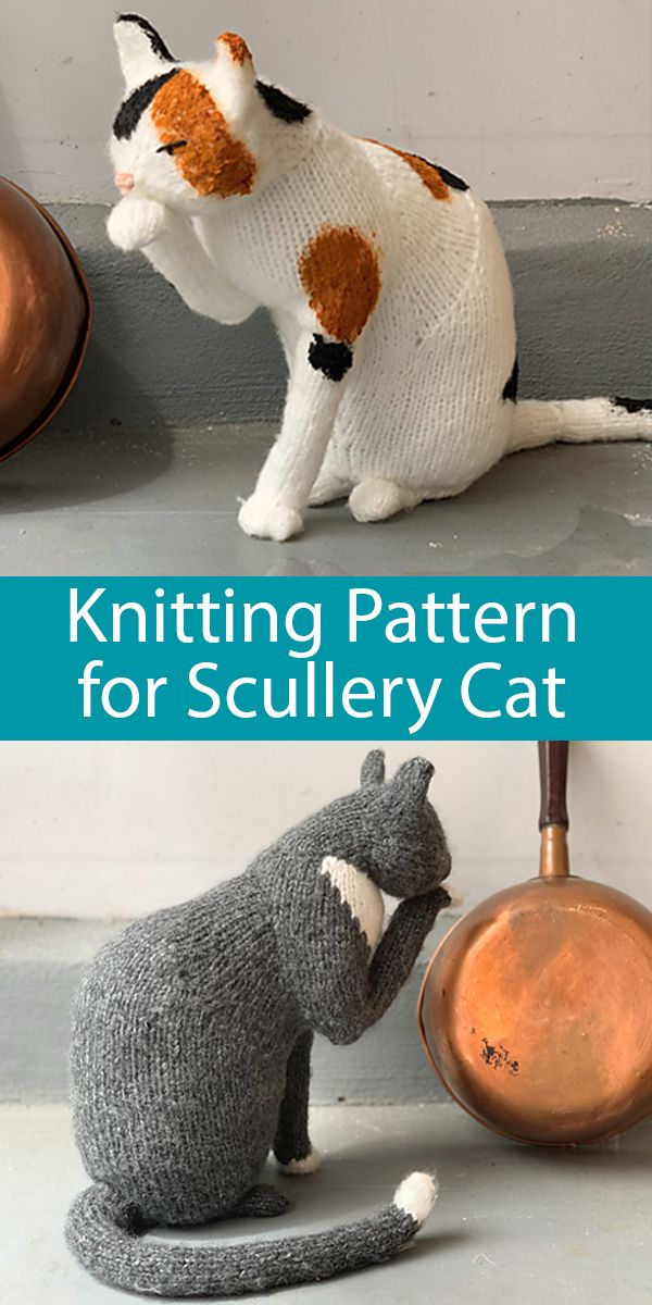 The Scullery Cat Knitting pattern by Sara Elizabeth Kellner